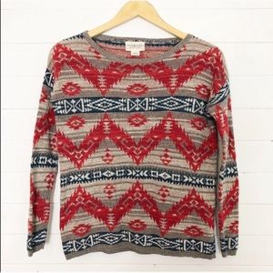 Ralph Lauren Denim & Supply Aztec Sweater Size XS